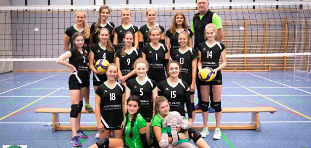 Damen 4 Volleyball