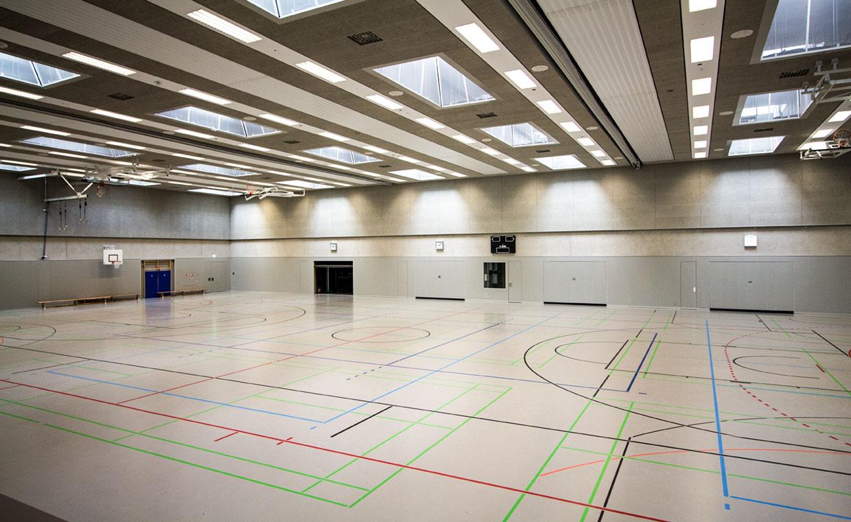 Sporthalle Schwaigfeld