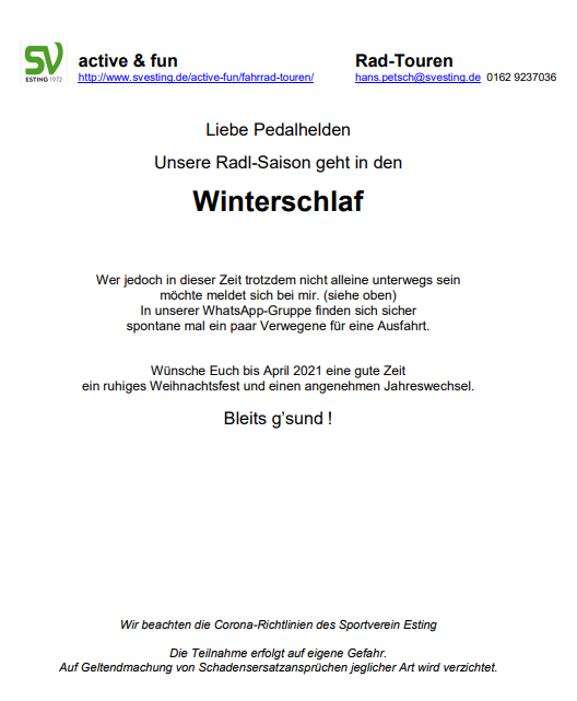 SVE-Radl20201026-Winterschlaf